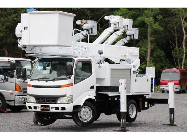 トヨタ 高所作業車 アイチ SH15B 電工仕様 高さ14.6m