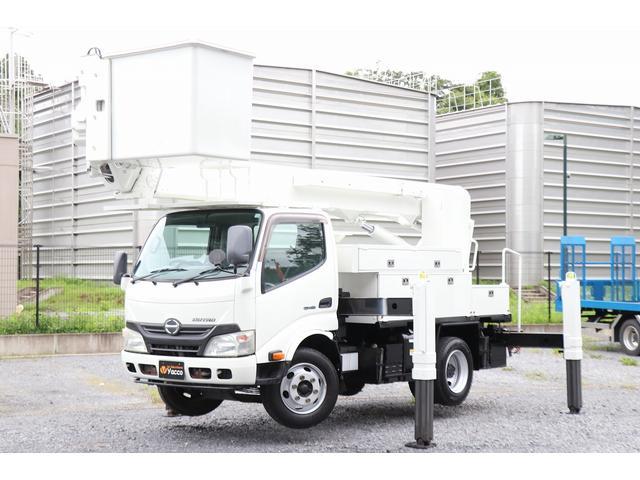 日野 デュトロ タダノ高所作業車 AT-146TE 電工仕様 積載500kg
