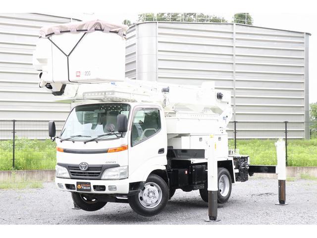トヨタ アイチ高所作業車 SH15B 14.6m 自動格納 DPF