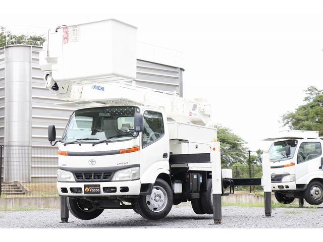 トヨタ  高所作業車 アイチU594 14.6m 電工仕様 自動格納 DPF ESスタート ヘッドライトレベライザー