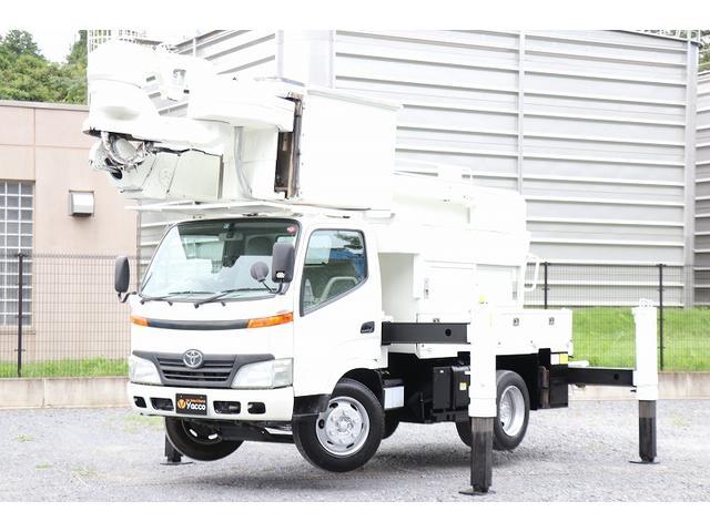 タダノ高所作業車 AT146CE 14.6m 電工仕様 自動格納 積載400kg 車両総重量 7905kg DPD ESスタート 左電格ミラー