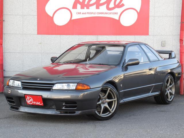 日産 GT-R 修復なし 社外車高調 34用純正AW 新品タイヤ