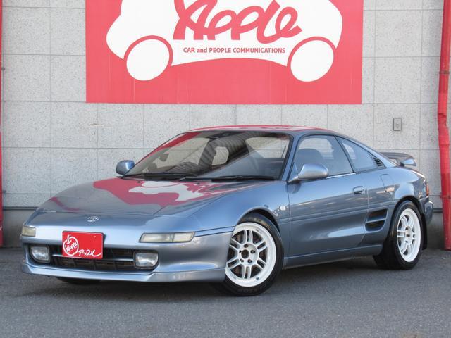 トヨタ MR2 GT 全塗装済 車高調 社外AW 社外マフラー 追加メーター