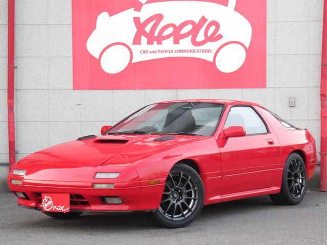 マツダ GT-X 5速MT 新品車高調 新品17インチAW 新品タイヤ 社外マフラー 社外エアクリーナー