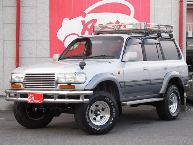 トヨタ VXリミテッド ユーザー買取車 ルーフラック リアラダー 社外AW リフトUP サンルーフ