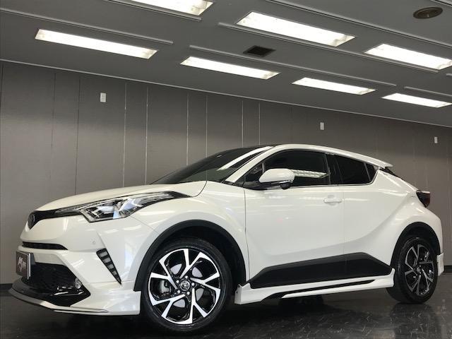 トヨタ C-HR G-T モデリスタエアロキット 新車保証付
