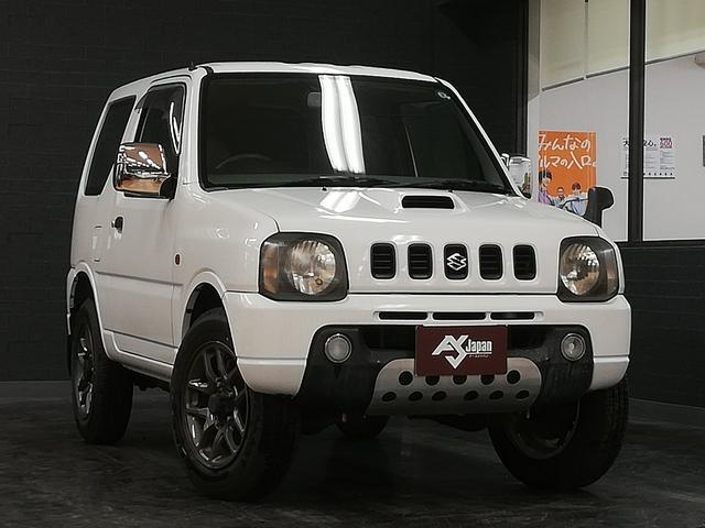スズキ XL 4WD 5速MT ターボチャージャー キーレス メッキドアミラー 社外16AW