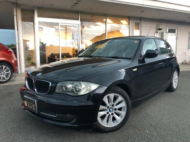 BMW 1シリーズ 116iスマートセレクション HDDナビ DTV 純正AW 本革シート 前席シートヒーター HID