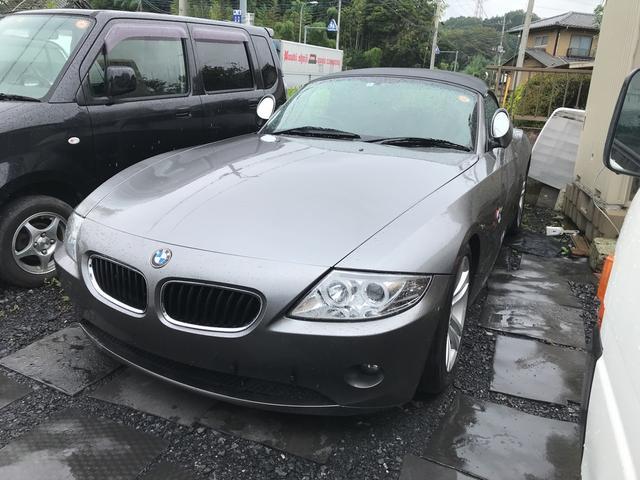 BMW Z4 2.2i 革シート キーレス アルミ オートマ グ...