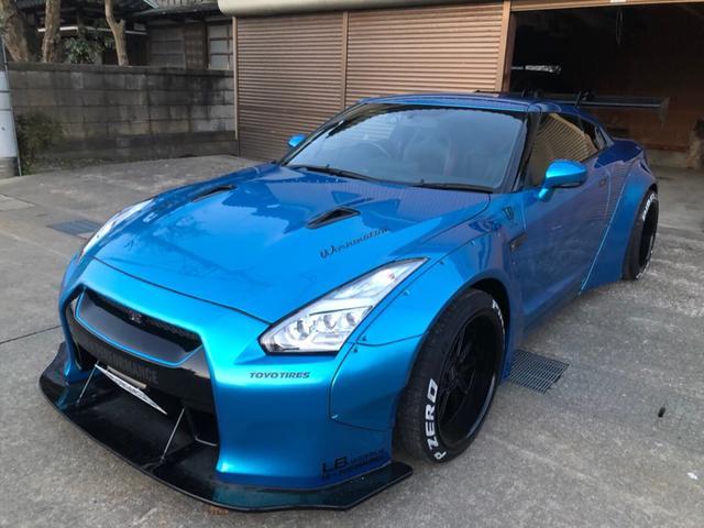 日産 GT-R ブラックエディション 4WD Liberty Walk カスタム