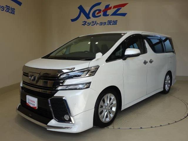 トヨタ 2.5Z 10型純正SDナビ フルセグTV 後席モニタ