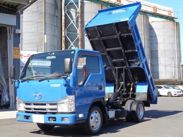 マツダ  新明和 強化ダンプ 外装仕上げ済み 積載2000kg 4ナンバー登録 ETC キーレス