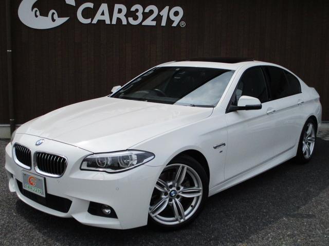 BMW 5シリーズ 528i Mスポーツ 1オーナー 黒革 サンルーフ ACC