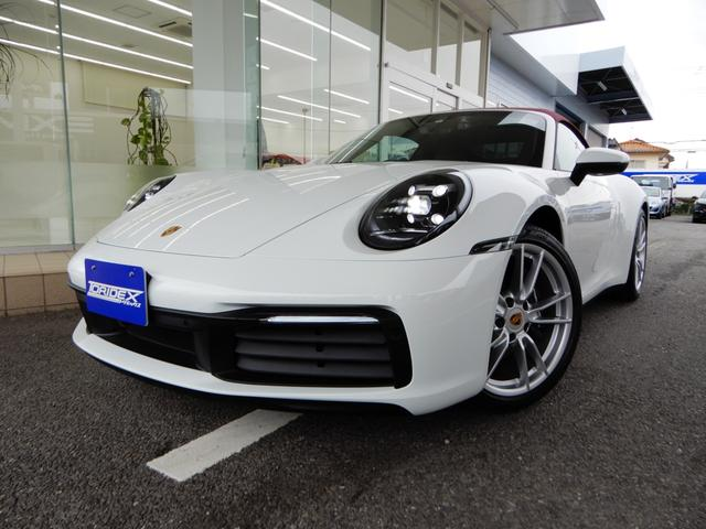 ポルシェ 911SCカブリオレ ワンオーナー 新車保証継承 エントリードライブ スポーツクロノ