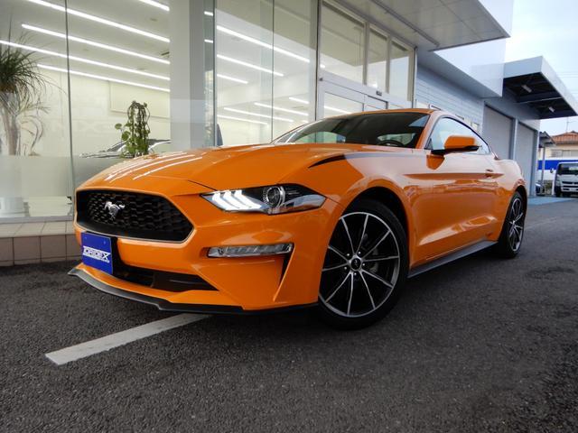 フォード マスタング エコブーストプレミアム プラスPKG フォードセーフ&スマートPKG 自社輸入