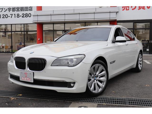 BMW アクティブハイブリッド7 アクティブハイブリッド7  純正ナビ・サンルーフ・黒革シート 左H