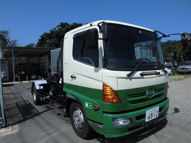 日野 レンジャー コンテナ専用車 アームロール 最大積載6700キロ