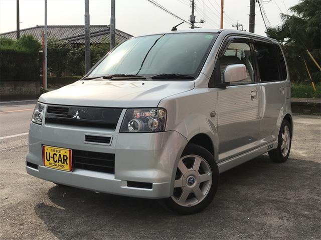 三菱 eKスポーツ R I/Cターボ 4WD HID シートヒーター ETC付