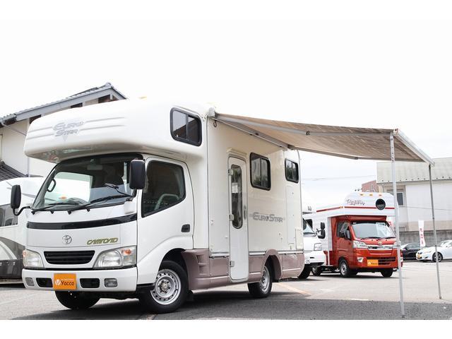 トヨタ  グローバル製ユーロスター FF オーニング リアクーラー エアサス
