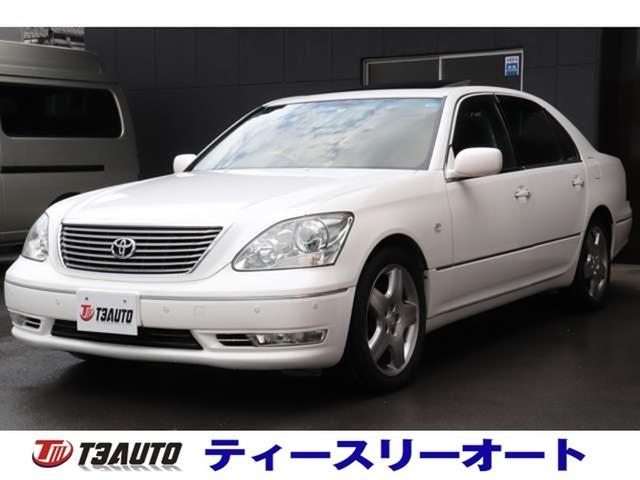 トヨタ セルシオ eR仕様 シートクーラー&ヒーター/黒革レザー/前後ソナー