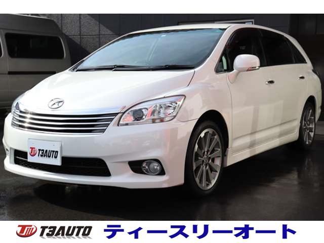 トヨタ マークXジオ エアリアル 最終モデル/後期型/純正ナビテレビ/Bluetoothオーディオ/ETC/DVD再生可/スマートキー