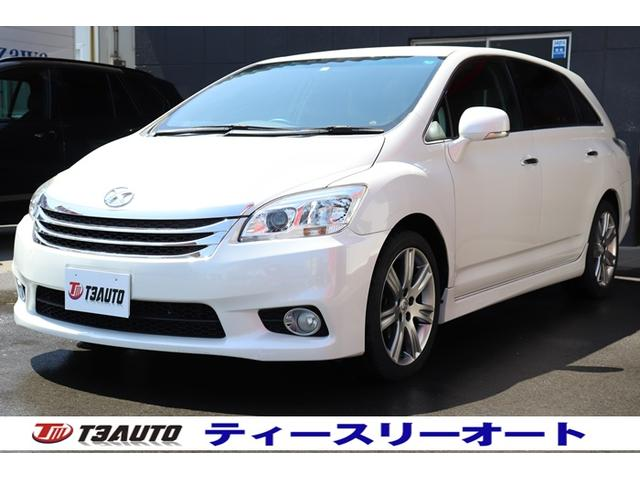 トヨタ マークXジオ エアリアル 禁煙車/HDDナビ/スマートキー/フルセグTV/DVD再生/Bluetoothオーディオ/バックカメラ/ETC