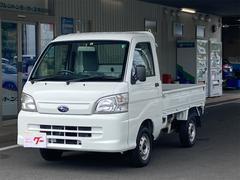 サンバートラックTB 5速マニュアル 三方開 AMFMラジオ 運転席側エアバッグ ライトレベライザー エアコン パワーステアリング パワーウインドウ 最大積載量350kg