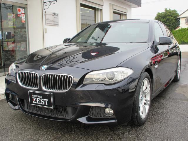 BMW 5シリーズ 528i Mスポーツパッケージ 茶革シート サンルーフ シートヒーター 純正ナビ 純正18インチAW ランフラットタイヤ バックカメラ フルセグTV ETC パドルシフト