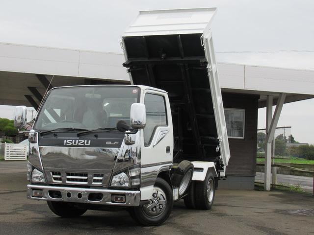いすゞ エルフトラック 三転強化ダンプ いすゞエルフ 三転強化2t ダンプ ETC 5MT