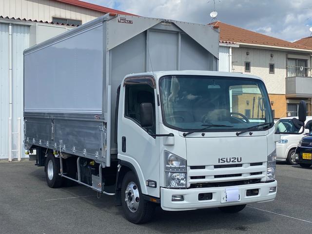 いすゞ エルフトラック 超ロングワイドウイング 5Mボディ 積載3900kg 6MT