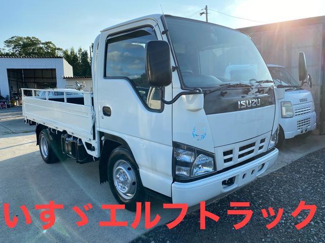 いすゞ エルフトラック  ディーゼル 4,800cc 軽油 長さ468cm  幅169cm  高さ196cm 5速マニュアル 修復歴無し 209,115km エアコン パワステ パワーウィンドウ トラック
