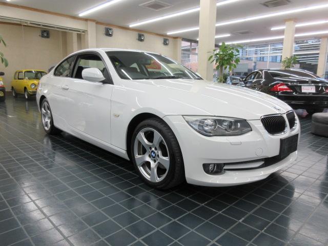 BMW 3シリーズ 320i クーペワンオーナー車D車右ハンドルパワーシート保証書スペアキーETC 純正ナビ