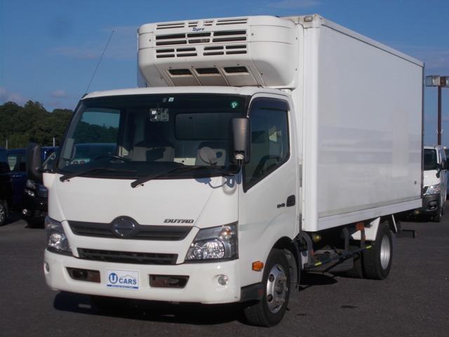 日野 デュトロ  ディ-ゼル 3t積 東プレ-30度冷蔵冷凍車 アイドリングストップ バックカメラ キ-レス