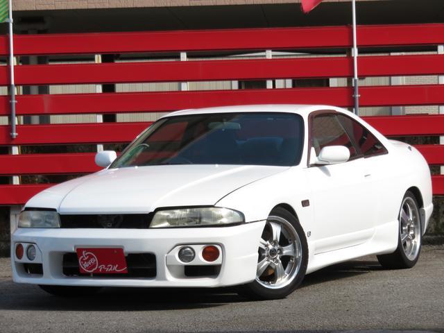 日産 スカイライン GTS25tタイプM 社外マフラー WORKホイール ブリッツ車高調