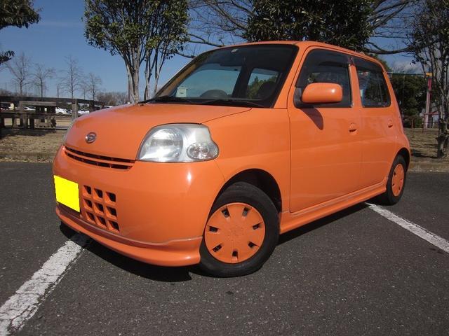 ダイハツ エッセ L オレンジ AT AC 4名乗り オーディオ付 WエアB パワステ エアコン エアバック パワーウィンド CD再生 タイミングチェーン式エンジン