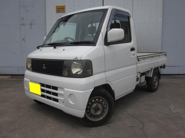 三菱 ミニキャブトラック ベースグレード 4WD AC MT ホワイト