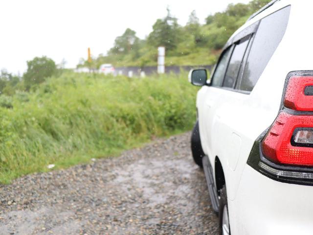 トヨタ ランドクルーザープラド TX ディーゼルターボ 7人乗り 電動ムーンルーフ クリアランスソナー&バックソナー ルーフレール ウッド調ステアリング フロアマット サイドバイザー
