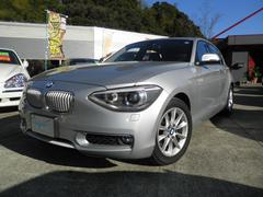 BMW116i スタイル ハーフレザーシート キセノン ナビ