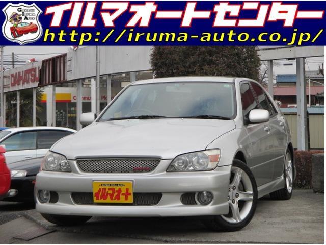 トヨタ AS200 Zエディション6速MT純正アルミ エアロ付