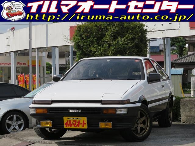 トヨタ GT APEX後期型 タイミングベルト交換済 室内展示車