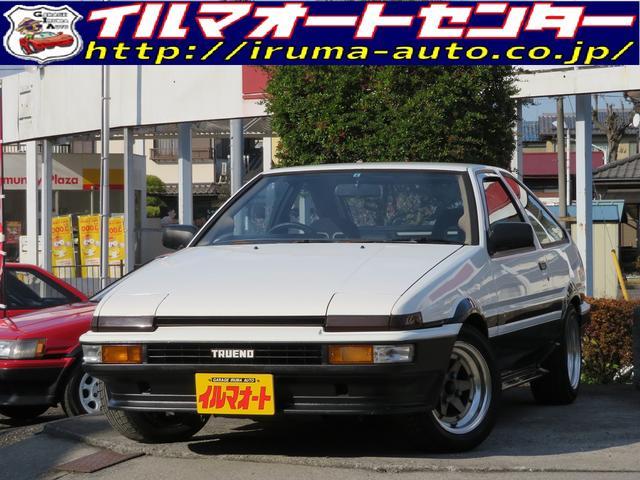 トヨタ GT-V 後期型 AE86トレノ 車高調付 タイベル交換済