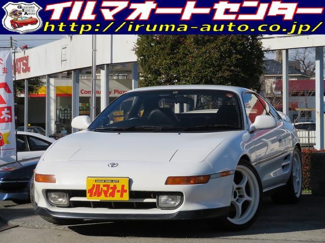 トヨタ GT 5速MTターボ 社外マフラー 社外アルミ 車高調付