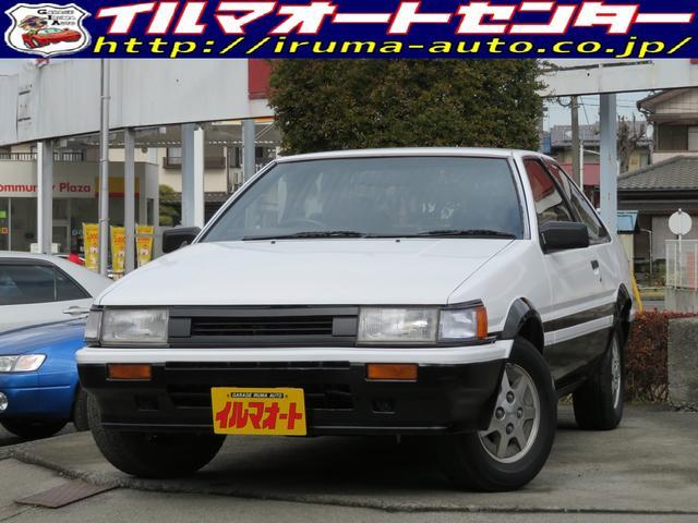 トヨタ GT APEX前期型 AE86レビン 5速MT フルノーマル