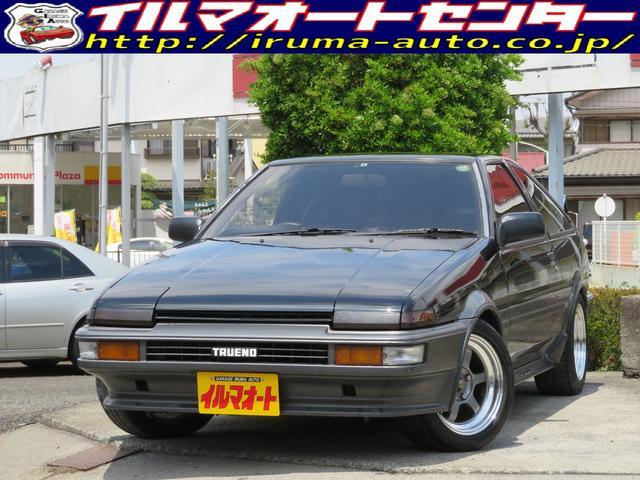 トヨタ GT APEX 後期型 AE86トレノ タイベル交換済み