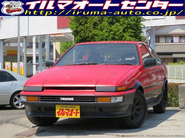 トヨタ GT APEX 後期型 AE86トレノ NEWペイント可