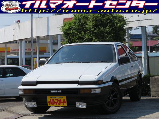 トヨタ GT APEX 後期型 AE86トレノ ワタナベ14インチW