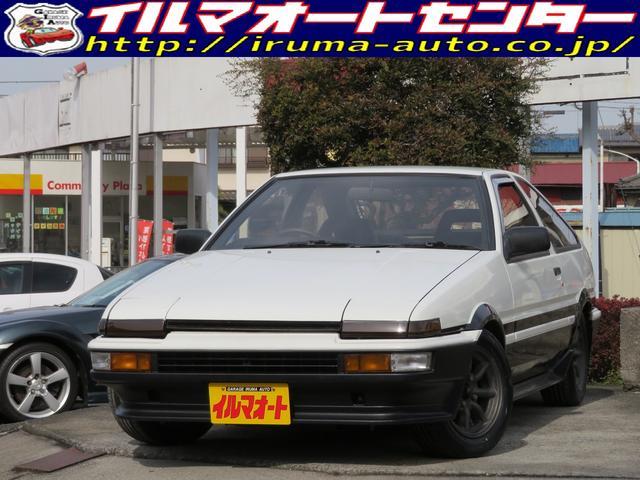 トヨタ GT APEX 後期型 AE86トレノ ワタナベホイール付