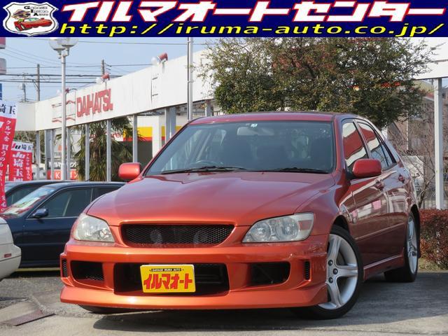 トヨタ アルテッツァ RS200 Zエディション 6速MT 車高調 タイベル交換済