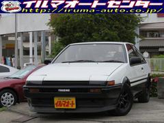 スプリンタートレノGT APEX 前期型AE86トレノ 車高調 社外マフラー付
