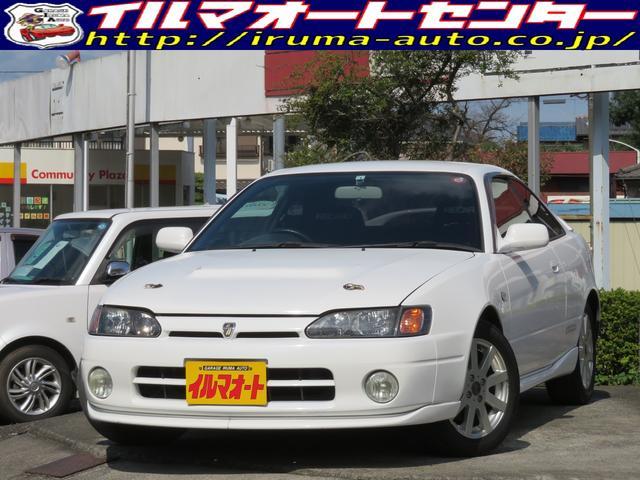 トヨタ カローラレビン BZ-R 6速MT/社外レカロシート/社外マフラー/社外15インチアルミ/リップスポイラー&リアスポイラー付/タイミングベルト交換済み